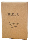 Terra Pure Green Tea Shower Cap Recycled Paper, Soy Ink Box