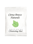 Citrus Breeze Naturals Cleansing Bar With Organic Aloe Vera Sachet