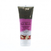 Spa De Soleil Neopolitan Souffle Salt Scrub (Chocolate,Vanilla,Raspberry), 240ml