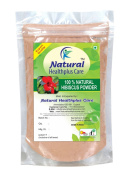 100% Natural Hibiscus Flower (ROSA SINENSIS) Powder for BOUNCY HAIRS by Natural Healthplus Care