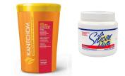 Kanechom Manteiga de Karité (Karité Butter) Mask 1kg + Silicon Mix Treatment 470ml