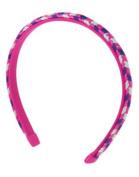 Gymboree Braided Headband - Navy, Pink, White