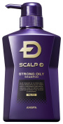 Scalp D Medical Hairgrowth Shampoo for Men 2016 (Strong Oily Skin Type) (350ml)