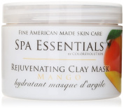 Spa Essentials Revitalising Clay Mask, Mango, 240ml