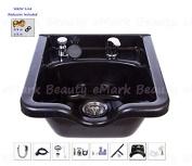 Square Shampoo Bowl Black ABS Plastic Salon and Spa Hair Sink Beauty Salon Equipment TLC-1016 KSGT