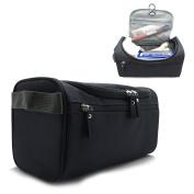 Hanging Travel Toiletry Bag For Men or Women Waterproof Perfect For Grooming Shaving Dopp Kit. Travel Size Toiletries Bag
