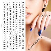 Supperb® Temporary Tattoos - Hand Lettering Tattoos