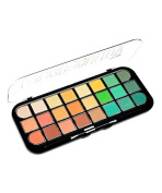 Kleancolor New WARM Brights 24 Colour Eyeshadow Palette