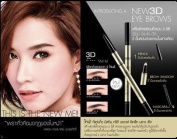 Mistine 3d Brows Secret Brow Set # No. 01-brown Dark