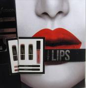 Profusion Lips 3 lip Sticks 1 Lip Gloss 2 lip Liners Peach Reds Pinks