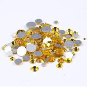 Nizi Jewellery Citrine Colour Rhinestones For Nails Mixed Sizes About 1000pcs