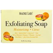 Madre Labs, Exfoliating Soap Bar, Citrus, 150ml (141 g) 10EA