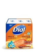 Dial Miracle Oil Bar Soap - 2 (90ml) Bars with Marula Oil