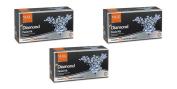 3 x VLCC Diamond Facial Kit - For Skin Polishing & Purification
