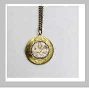 Quote keychain. Inspirational Quote. key chain.classic Pooh. Pooh.Vintage Pendant Locket Necklace
