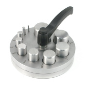 Disc Cutter - Circle - 10 Punches - for Jewellery Making - SFC Tools - 28-589