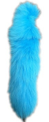 AuSableTM Brand Blue Dyed Fox Tails