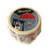 Moomin Washi Tapes Picture book series Little My and Rain