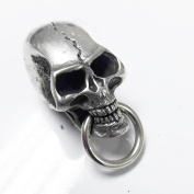 Biker Chain Wallet Connector Skull Wallet Chain Connector O-Ring Clasp Leathercraft