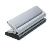 Fc Organisational Products 22997 Four-Sheet Seven Hole Punch For Classic Style Day Planner Pages, Metal