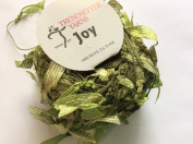 Trendsetter Joy #1342 - Green Goblin - Yarn with Ribbon Flags - 25 Gramme, 62 Yards