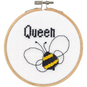 Dimensions Needlecrafts 72-74844 Stitch Wits Counted Cross Stitch Kit by Dimensions-Queen Bee