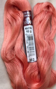 FLOCHE-DMC COTON FLOCHE A BRODER-colour -352-MED SALMON-YOU WILL RECEIVE 1 HANK- TOTAL WEIGHT 10 GM