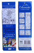 Re-marks Feathered Friends - 5 Colouring Bookmarks
