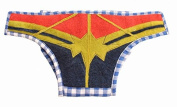 Silk Road Bazaar The Superhero Nappy Cover, Blue/Red/Gold