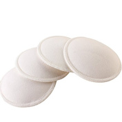 Washable Reusable Washable Super Absorbent Leak Proof Nursing Pads Bra Pads Ultra Soft-5 pair