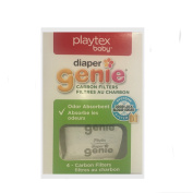 Playtex Carbon Filter Refill Tray for Nappy Genie Nappy Pails, White
