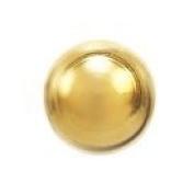 Studex System 75 ear piercing studs long post 4mm 24k gold ball 7541-0300-23