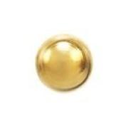 Studex System 75 ear piercing studs long post 3mm 24k gold ball 7561-0300-23
