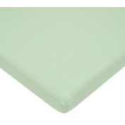 TL Care 100 Percent Cotton Jersey Knit Cradle Sheet, Celery