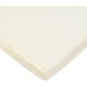 TL Care 100 Percent Cotton Jersey Knit Cradle Sheet, Ecru