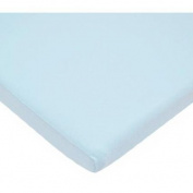 TL Care Supreme Jersey Knit Cradle Sheet, Blue