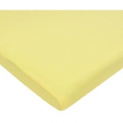 TL Care Supreme Jersey Knit Cradle Sheet, Maize