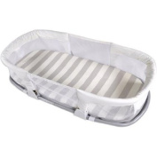 Summer Infant By Your Side Comfort Sleeper, Stripes Grey