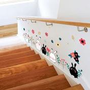 Animal Rabbit Wall Sticker Wallpaper Removable DIY Decal Home Decor Mural Vinyl Art
