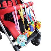 Random Slip Resistant Safe Fix Baby Bottle Toys Sling Holder Stroller Clean Adjusted Belt Essentials