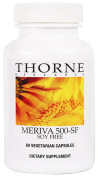 Thorne Research - Meriva-500 SF (Soy Free) - Curcumin Phytosome Supplement - 60 Vegetarian Capsules