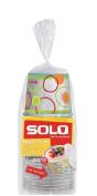 Solo Snack Bowl, 350ml, 10 Bowls & Lids