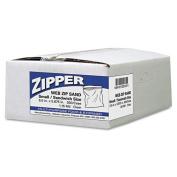 Webster Industries ZIP1SS500 6.5 x 5.88 Recloseable Zipper Seal Sandwich Bags, Clear
