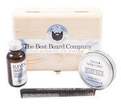 The Best Beard Company Beared Oil and Balm Kit for Men Premium Beard Grooming Kit Products