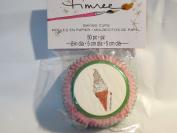 Timree Baking Cups - 50 per pkg - Pink Polka Dot