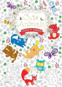 Cute Animals (Colouring Book, by Numbers)