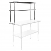 Gridmann NSF Stainless Steel Commercial Kitchen Prep & Work Table - Multiple Sizes Available - 120cm 150cm 180cm