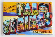 Greetings From Palm Springs California Fridge Magnet