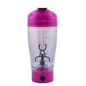 TOPCHANCES 530ml Shaker Tornado Portable Mixer Cup for Fruit Coffee Protein Milkshake - Battery Support