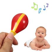 Plastic Egg Maraca Musical Toy Child Early Educational Rhythm Tool Baby Kid